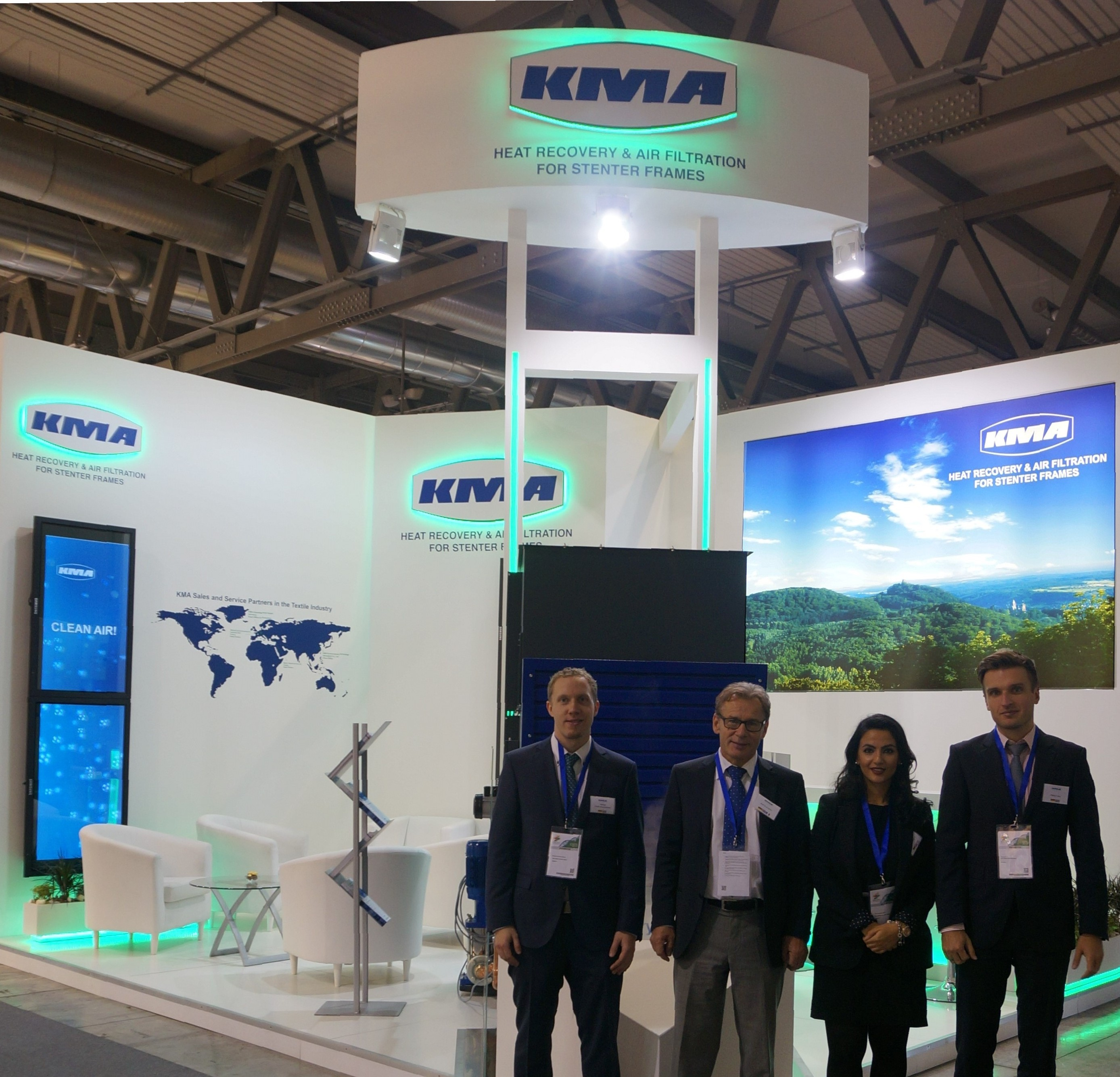 KMA at ITMA 2015 – complete success