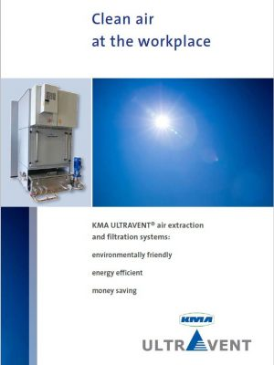 Clean air at the workplace with KMA ULTRAVENT Exhaust air filter systems