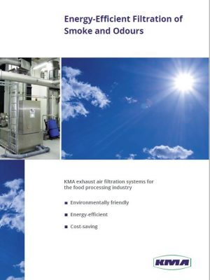 energy efficient filtration of smoke and odours for the food industry