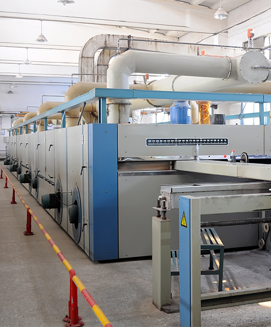 Exhaust air treatment solutions can be integrated into existing stenter frames