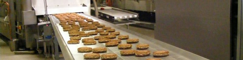 Industrial frying lines require exhaust air filtration