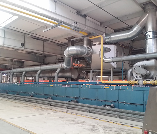 Heat recovery for the supply air system