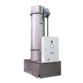 For high pure air quality, the KMA AAIRMAXX® can be combined with a KMA gas scrubber