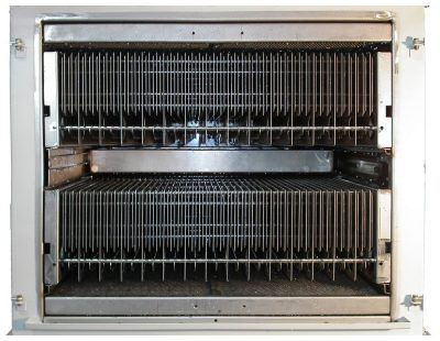 The efficient automatic filter cleaning system by KMA Umwelttechnik can be seamlessly integrated in KMA exhaust air filtration systems.