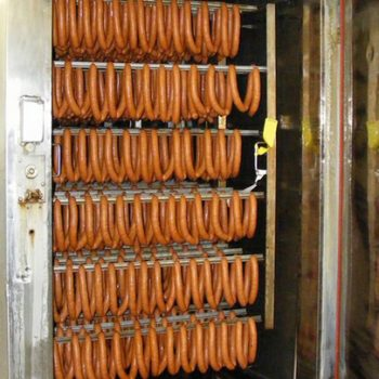 Sausage products are subject to smoking-specific requirements for exhaust air purification.
