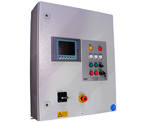 The KMA SPS control allows for precise programming of the filter system.