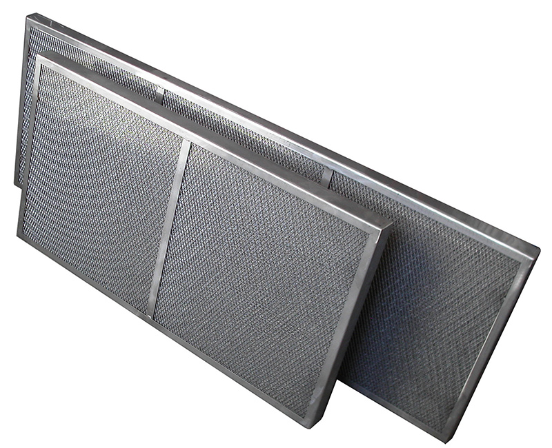 KMA ULTRAVENT® demister cells remove impurities from exhaust air