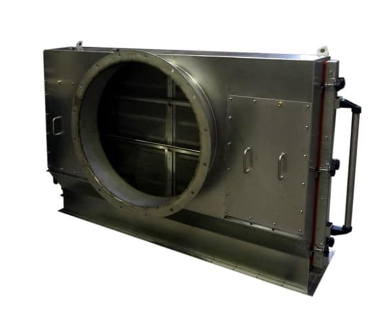 KMA ULTRAVENT® lint removal module can be added to all KMA exhaust air purification systems.