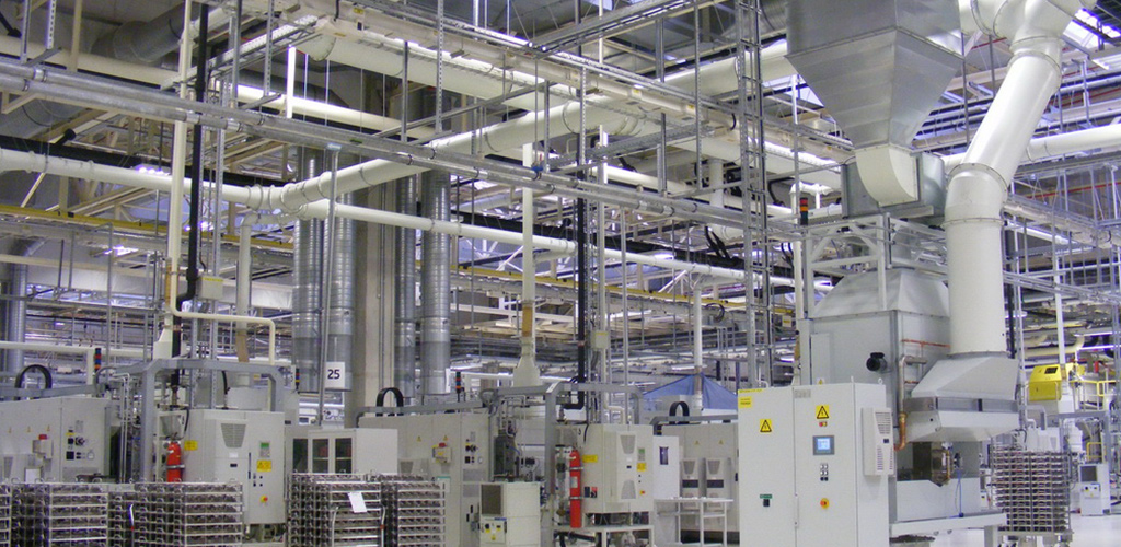 Efficient exhaust air treatment in production plants of metal industry
