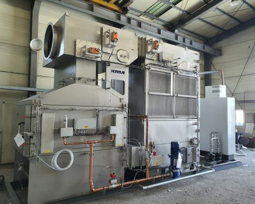 first exhaust air filtration system with integrated heat recovery in south korea